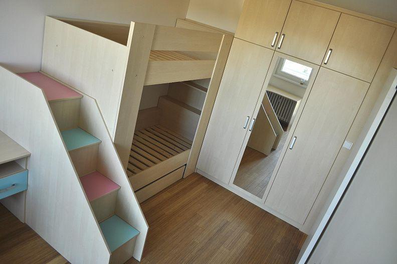 Návrh a realizace interiéru, dětsky pokoj