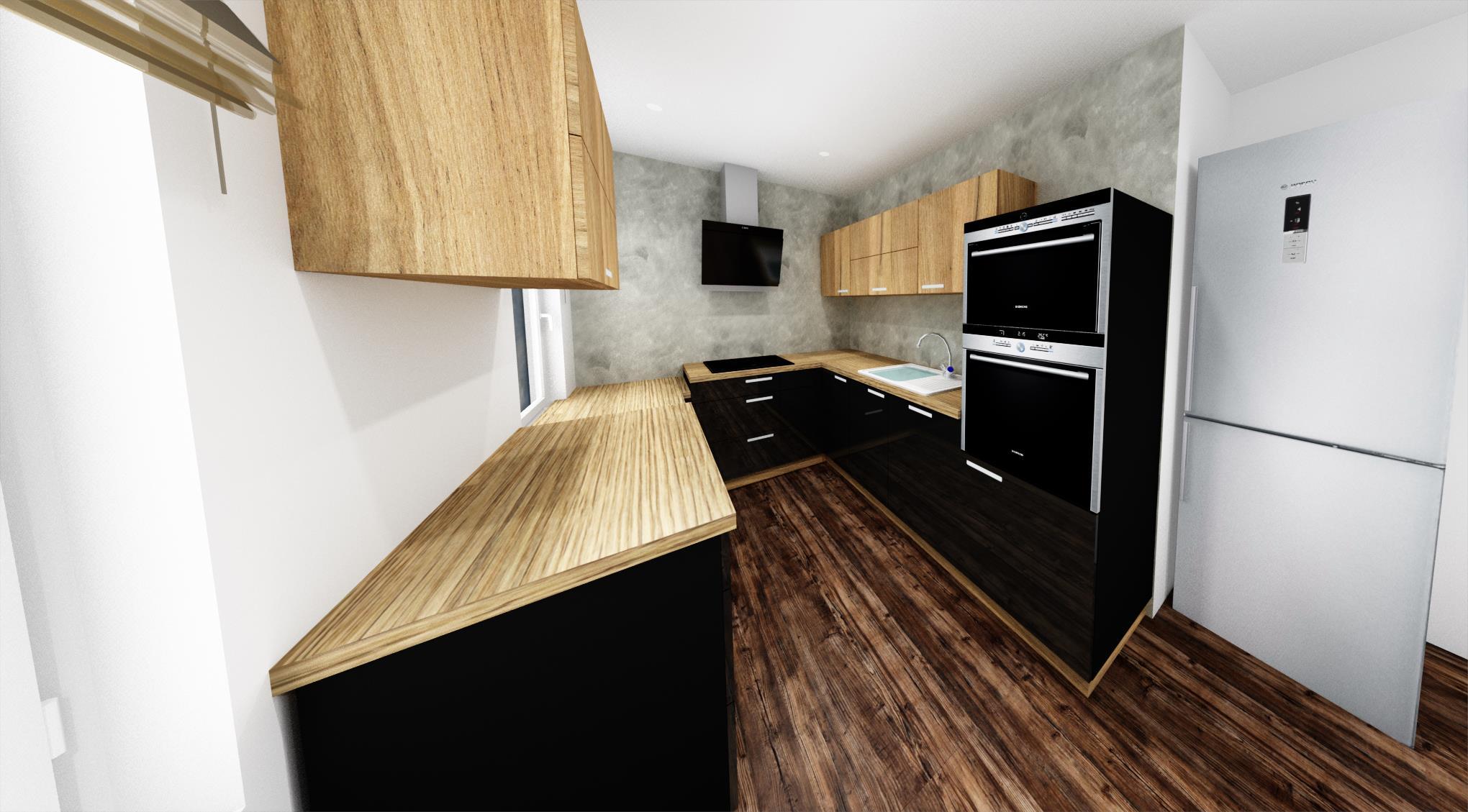 Vizualizace, kuchyne