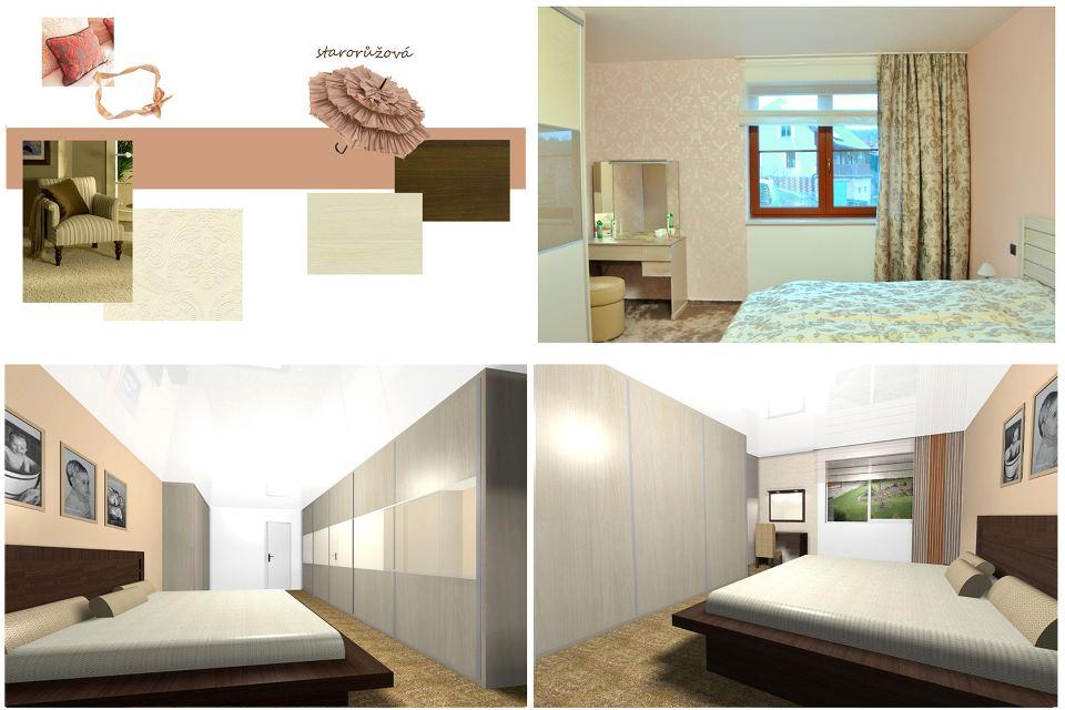 Návrh a realizace interiéru, ložnice