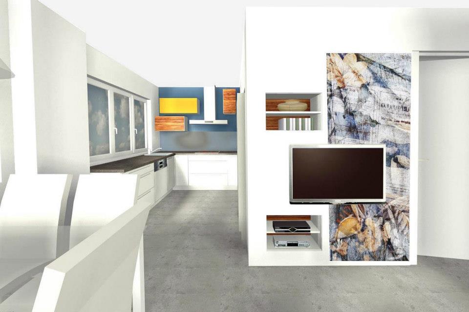 Vizualizace - interiér