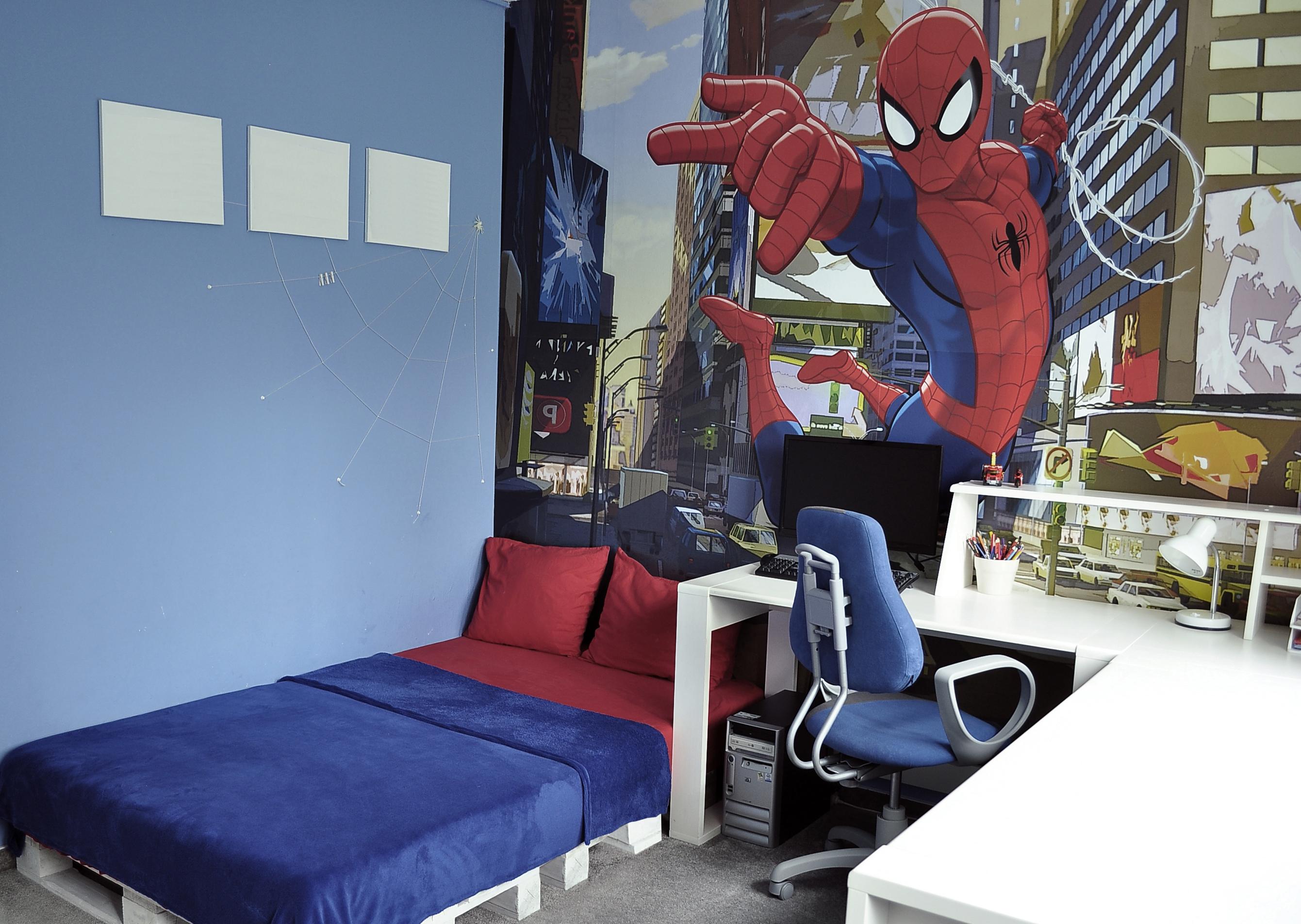 Návrh interiéru, dětský pokoj