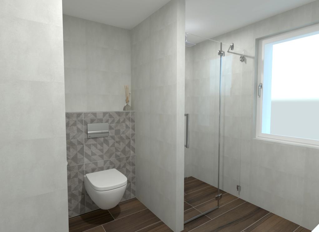 Vizualizace koupelna
