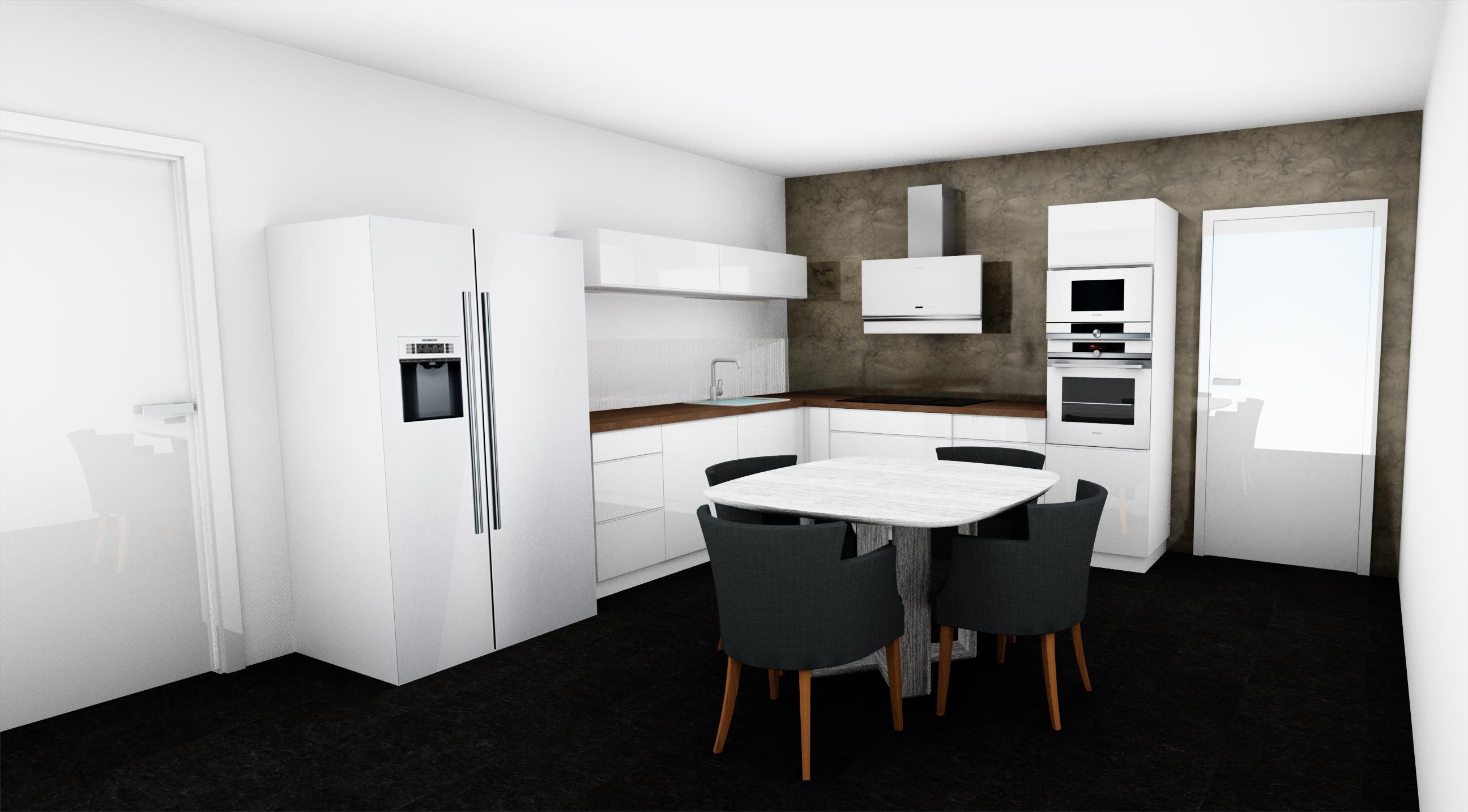 Grafický návrh, kuchyně