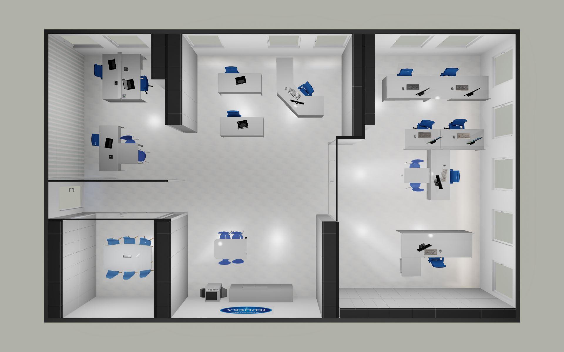 Rekonstrukce kancelářské prostory