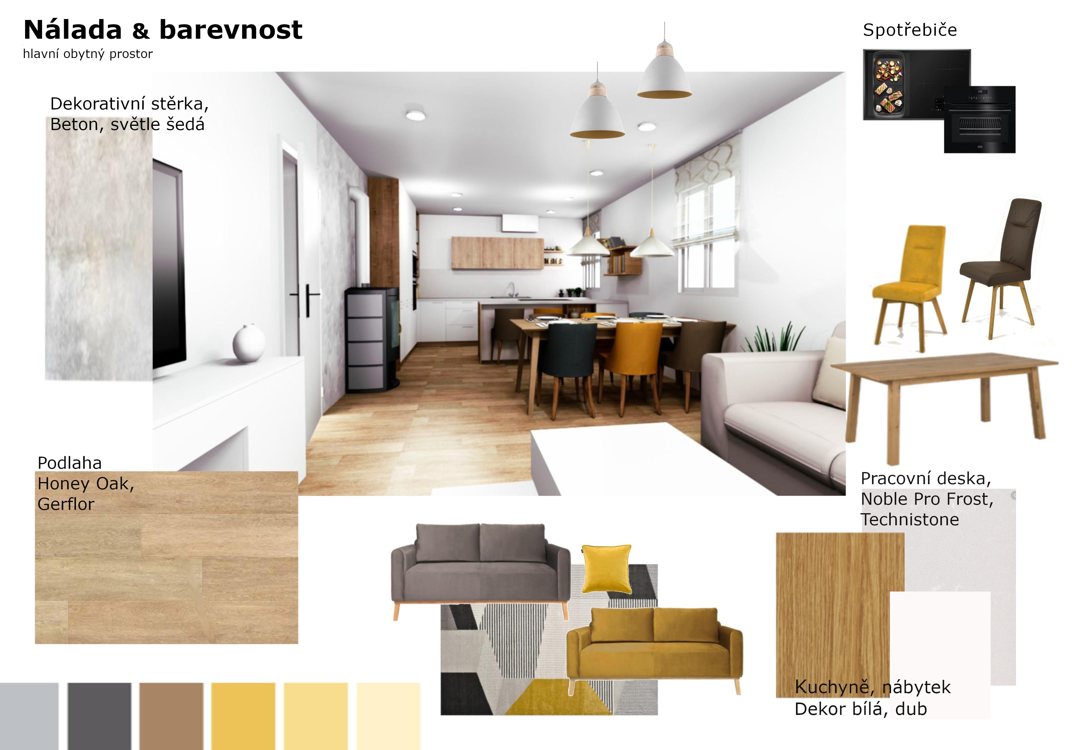 Nálada, barvy - interier